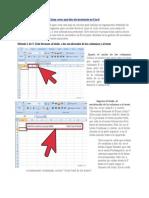 Cómo Crear Una Lista de Inventario en Excel