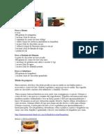 BRIGADEIROS e CREMES do Daniel Bork.doc