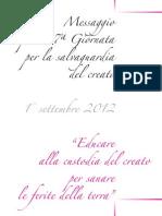 Sussidio Giornata Creato 2012-1