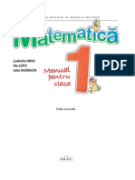 I_Matematica (in Limba Romana)