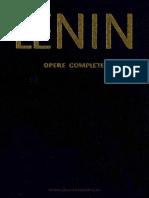 LENIN - Opere complete, vol. 1
