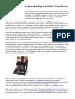 Review Mascarilla Capilar Biológica Vainilla Y Coco Essere