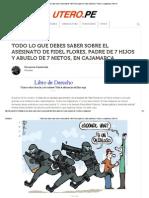 -Todo Lo Que Debes Saber Sobre El Asesinato de Fidel Flores, Padre de 7 Hijos y Abuelo de 7 Nietos, En Cajamarca _ Útero