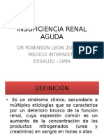 Fisiopatologia - Insuficiencia Renal Aguda