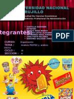 Organizacion  de la Donofrio y dimensiones