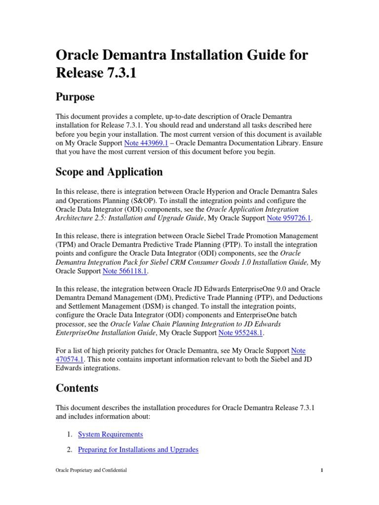 Oracle demantra implementation guide part e22232 09.