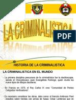 La Criminalistica