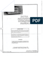 HP 3478A Operations (1)