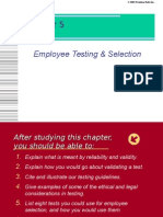 Chap 5 - Employee Testing and Selection