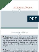 Língua e Linguagem