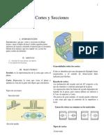 Cortes y Secciones .