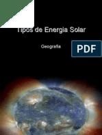 Tipos de Energia Solar