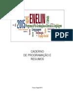 Resumo ENELIN 2015