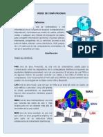 Redes de Computadoras y clasificacion
