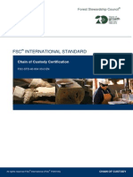 FSC STD 40 004_V3 0_EN Chain of Custody Certification