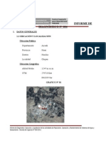 Informe de Diagnóstico Chupan
