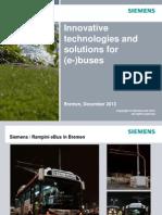 131211 Las Bremen EBus Presentation Siemens