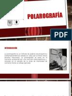 POLAROGRAFÍA-DIAPOSITIVAS