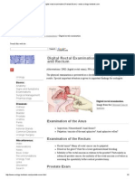 Digital Rectal Examination (Prostate Exam) – Www.urology-textbook