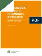 Community Resource (Draft)