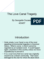 CET 413 the Love Canal Tragedy[1].Ppt Real Presentation