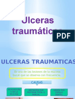 ULCERAS TRAUMATICAS