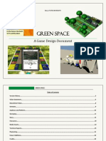 Green Space - Video Game Design Document