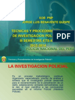 La Investigacion Policial