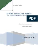 El Niño Como Actor Político LISTO