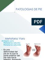 43565575 Patologias de Pie