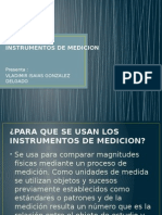 Exposicion Instrumentos de Medicion