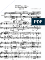 Menuetto, From the Fantasy in G Major, Op.78, No.3