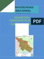 parámetros fisiograficos