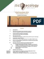 Wind Farm Noise 2012