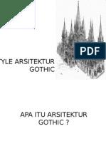 Style Arsitektur Gothic