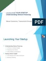 Steve Cummins Transworld Group - Venture Financing