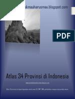 Atlas 34 Provinsi Di Indonesia