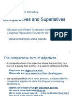 skills 27-29 comparative and superlatives