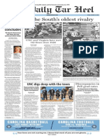 The Daily Tar Heel for Oct. 23, 2015