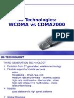 WCDMAvsCDMA2000