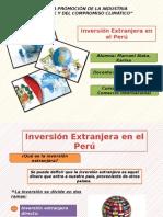 Inversión Extranjera Eb El Perú - Dci
