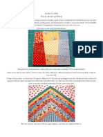 Crazy About Quilting - Crazy Nine-Patch Directions