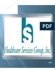 HCSG Healthcare Services Group Q4 2009 Presentation