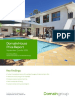 Domain House Price Report September