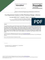 User Requirement Analysis