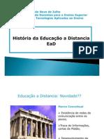 História do Ensino a Distância –EAD