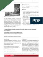 Australian and New Zealand Journal of Obstetrics and Gynaecology Volume 49 Issue 2 2009 [Doi 10.1111%2Fj.1479-828x.2009.00952.x] Gabriela BENCAIOVA; Christian BREYMANN -- Acquired Siderobl