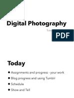 Digital Photography Tutorial 1