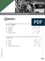 Guía-35 EM-32 Posiciones Relativas de Rectas y Planos en El Espacio