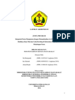Laporan Program Kreativitas Mahasiswa